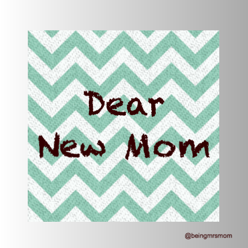 Letters to Moms Out There…