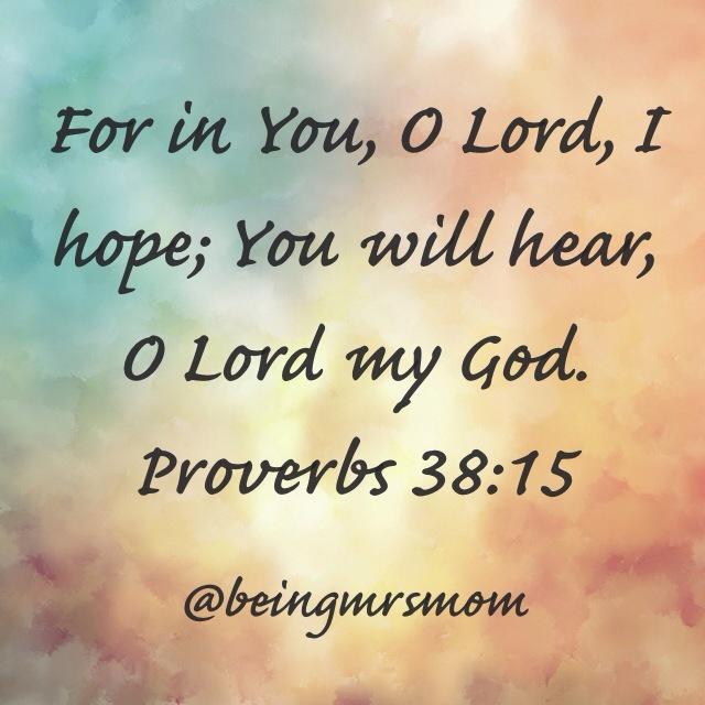 Proverbs 38:15