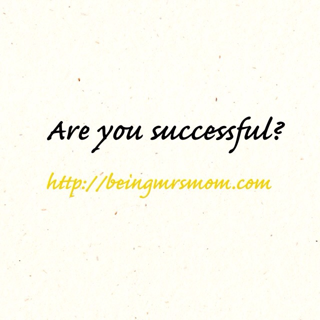 Are You Successful?