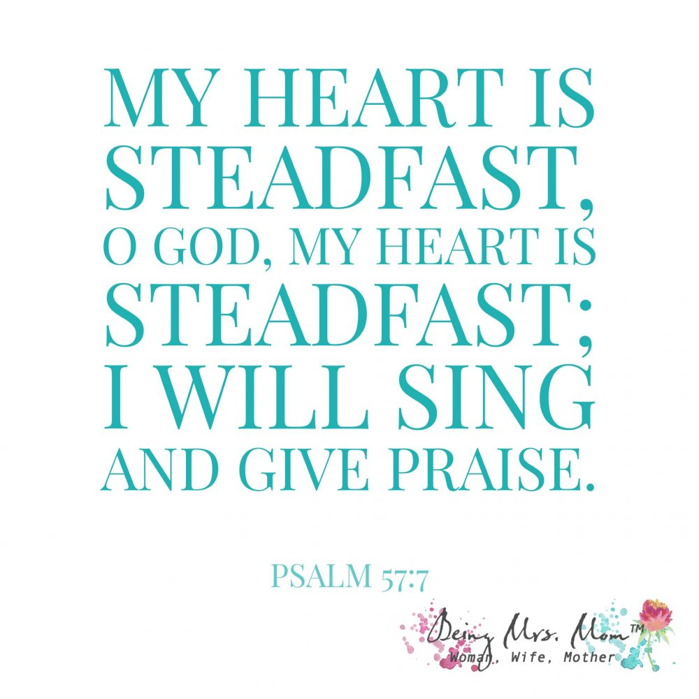Psalm 57:7 Bible Verse of the Day