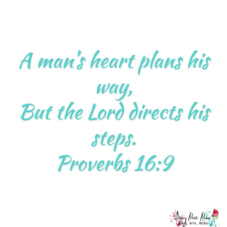 Sharing Scripture: Proverbs 16:9