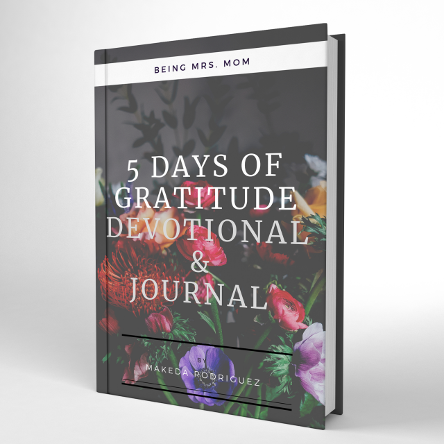 5 Days of Gratitude Devotional and Journal