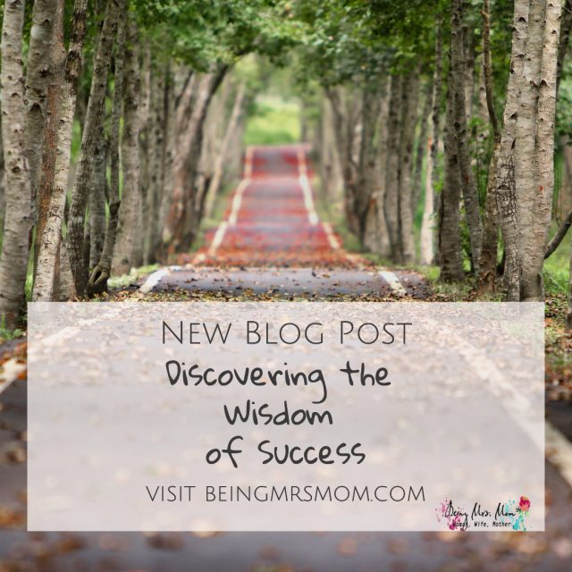 Discovering the Wisdom of Success